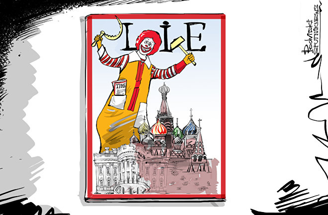 Time Beyaz Saray'ı Kremlin'e Benzetti