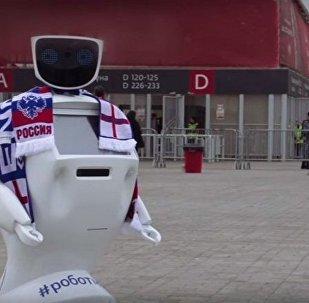 Rus bilim insanları Dünya Kupası için robot koruma geliştirdi