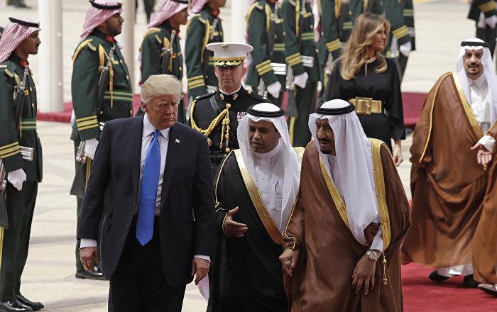 Trump, ilk yurt dışı seyahatini Suudi Arabistan'a yaptı