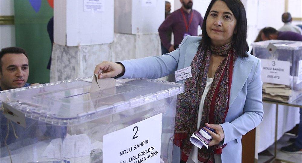 HDP Eş Genel Başkanı seçilen Serpil Kemalbay