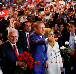 AK Parti 3. Olağanüstü Büyük Kongresi - Cumhurbaşkanı Recep Tayyip Erdoğan - Başbakan Binali Yıldırım