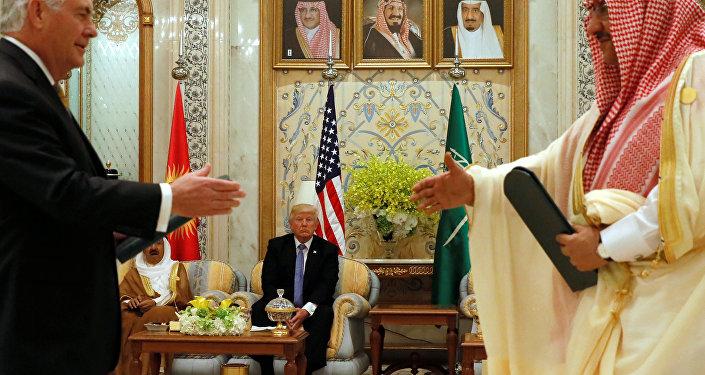 ABD Dışişleri Bakanı Rex Tillerson ile Suudi Prens el Suud