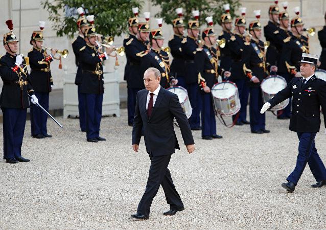 Vladimir Putin - Paris