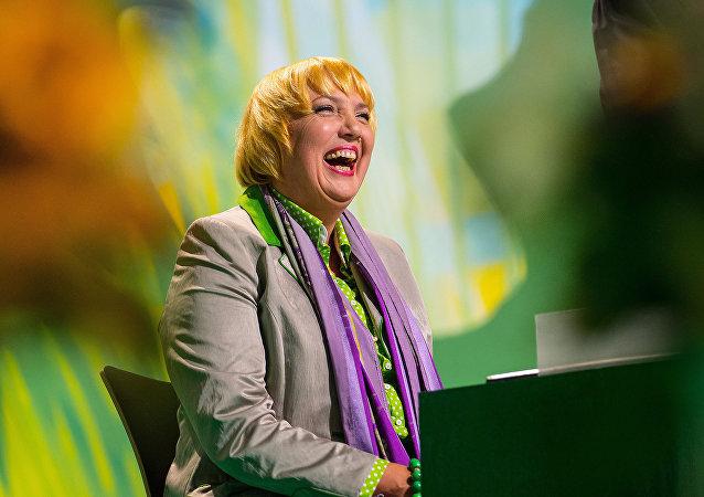 Alman Yeşiller Partisi milletvekili Claudia Roth