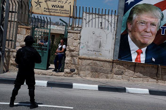 Trump'ın ziyareti nedeniyle Beytüllahim'de geniş güvenlik önlemleri alındı.