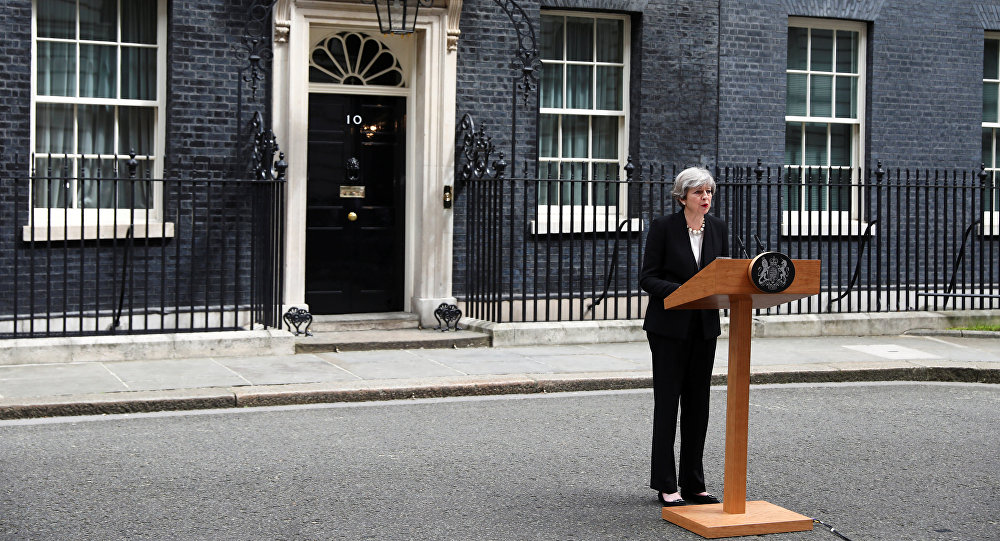 İngiliz Başbakanı May,