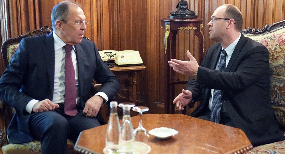 Sergey Lavrov - Davor Ivo Stier