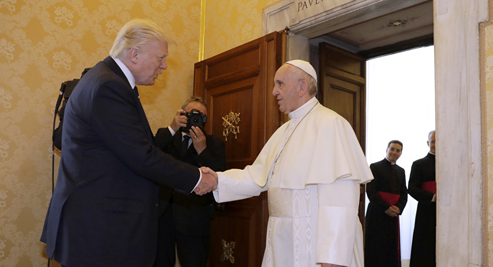 Donald Trump-Papa Francis