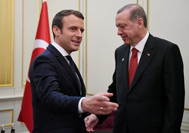 Erdoğan-Macron
