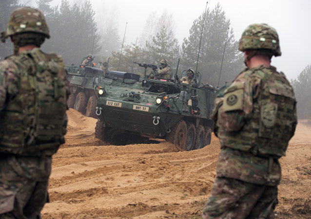 Letonya'da askeri tatbikat