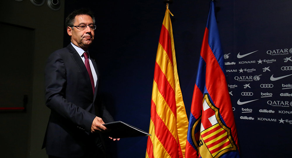 Barcelona Kulübü Başkanı Josep Maria Bartomeu