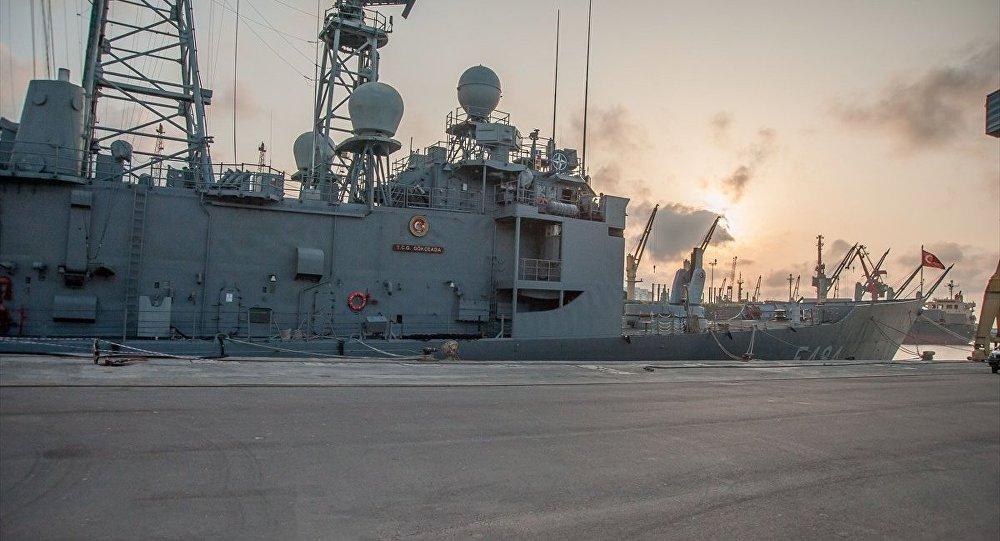 TCG Gökçeada savaş gemisi