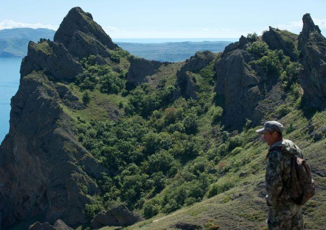 Kırım'da Karadağ Milli Parkı