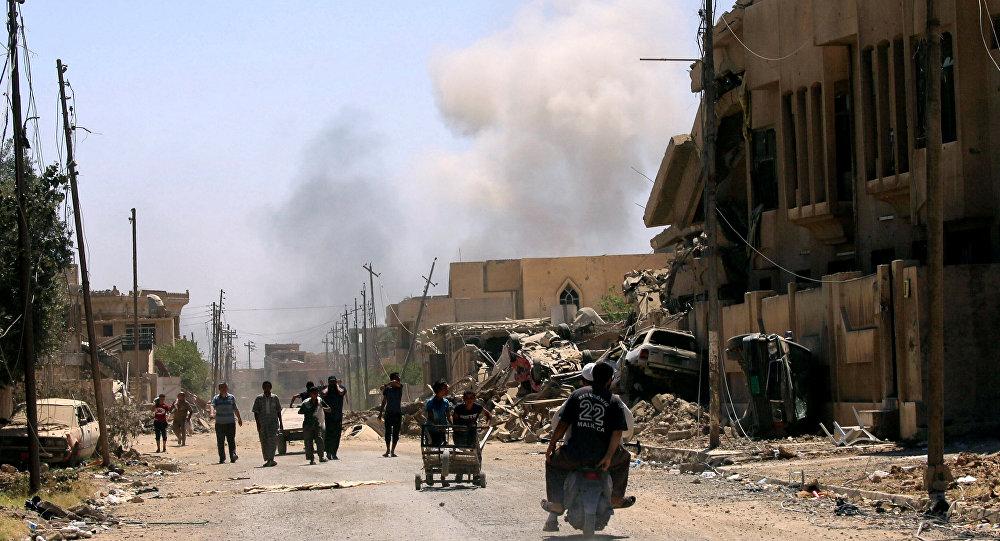 Büyük El Nuri Camii'ne saldırı düzenledi
