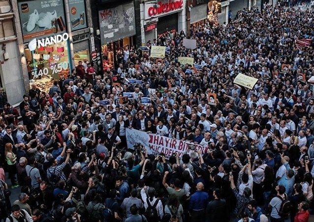 Gezi protestolarının 3. yıldönümü