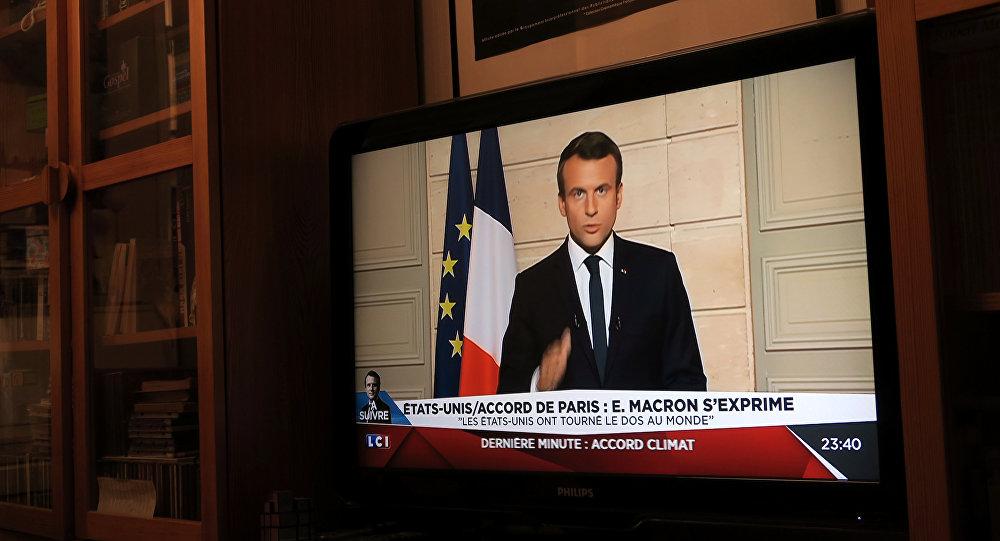 Fransa Cumhurbaşkanı Emmanuel Macron / Paris İklim Anlaşması
