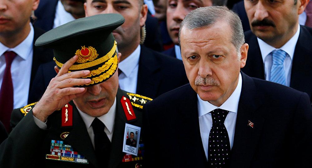Recep Tayyip Erdoğan - Hulusi Akar
