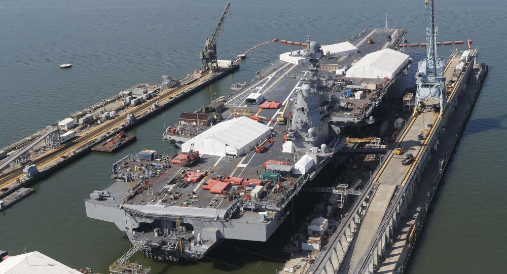 ABD'nin Gerald R. Ford sınıfı uçak taşıyıcı gemisi