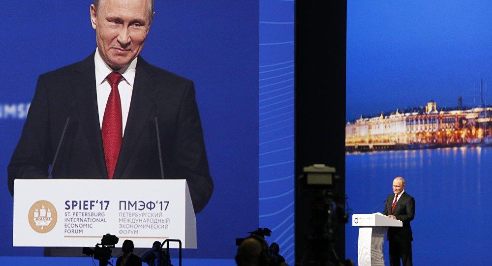 Vladimir Putin / St. Petersburg Uluslararası Ekonomi Forumu