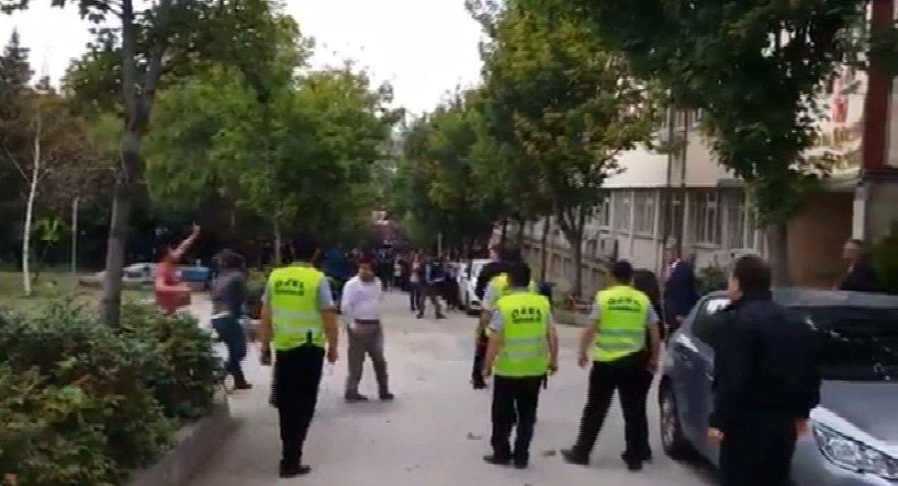 Cebeci kampüsü-kavga