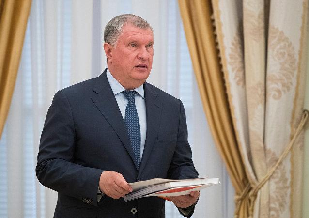 Rosneft Başkanı İgor Seçin