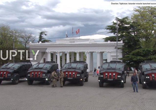 FSB'nin Batmobile'i Kırım'da