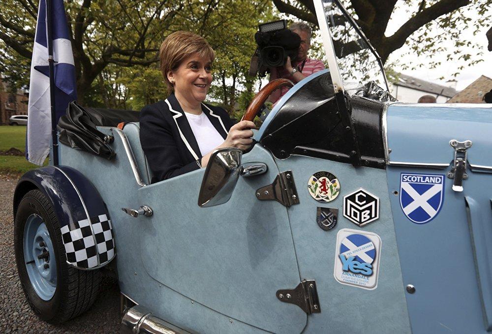 İskoçya Başbakanı Nicola Sturgeon