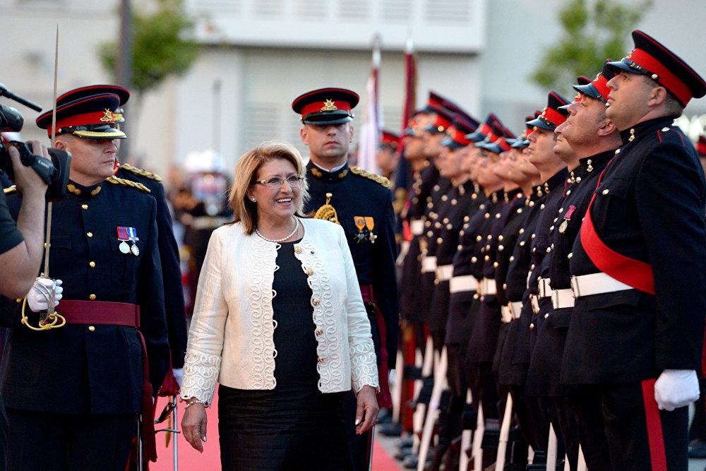 Malta Cumhurbaşkanı Marie-Louise Coleiro Preca