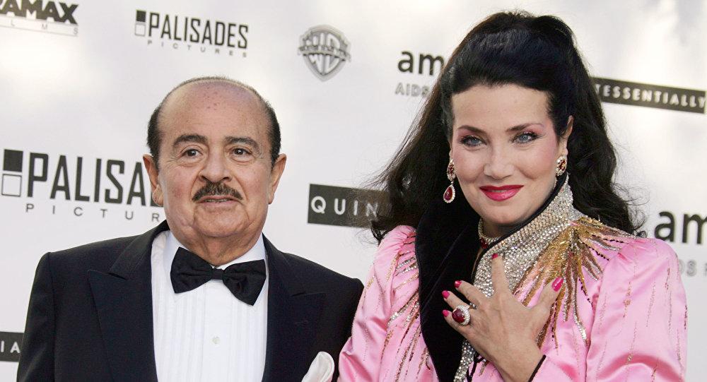 Adnan Kaşıkçı ve karısı Lamia Kaşıkçı