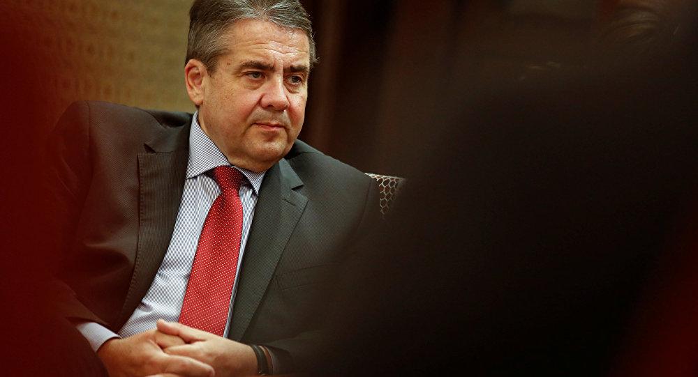 Almanya DIşişleri Bakanı Sigmar Gabriel