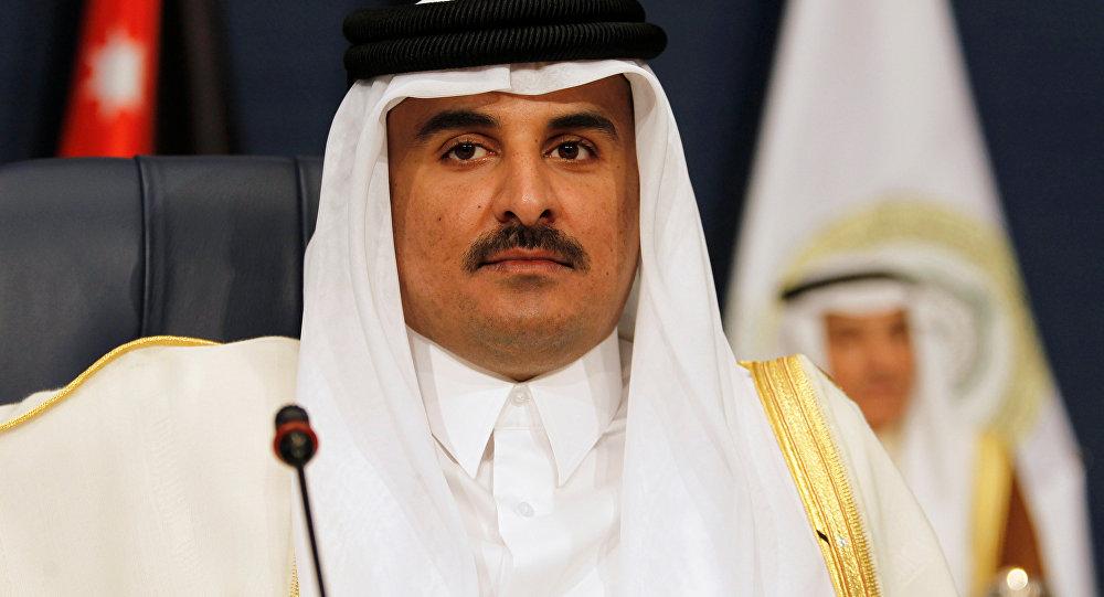 Katar Emiri Şeyh Temim bin Hamad Al Sani