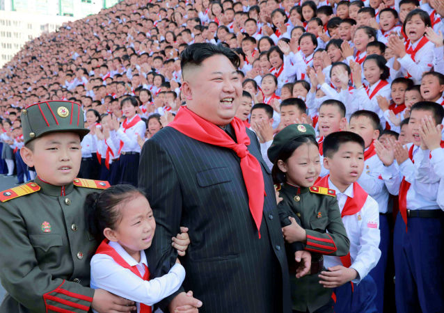 Kuzey Kore'de Çocuk Bayramı kutlamaları