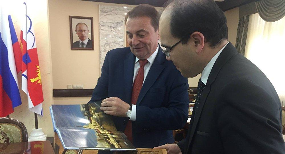 Türk Başkonsolosu, Soçi Belediye Başkanı'nı ziyaret etti