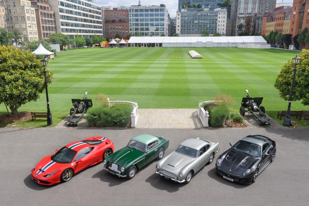 Londra'da City Concours Otomobil Fuarı