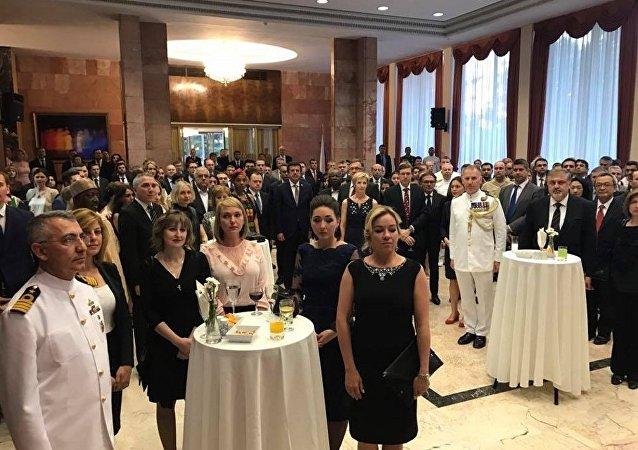 Rusya Milli Günü, Ankara'da Karlov'un yokluğunda ilk kez kutlandı