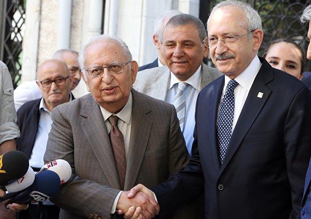 Hüsamettin Cindoruk- Kemal Kılıçdaroğlu