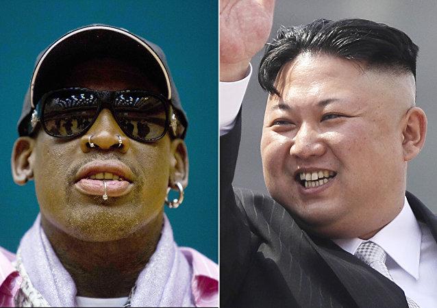 Dennis Rodman- Kim Jong-un
