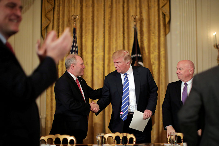 Donald Trump ve Steve Scalise