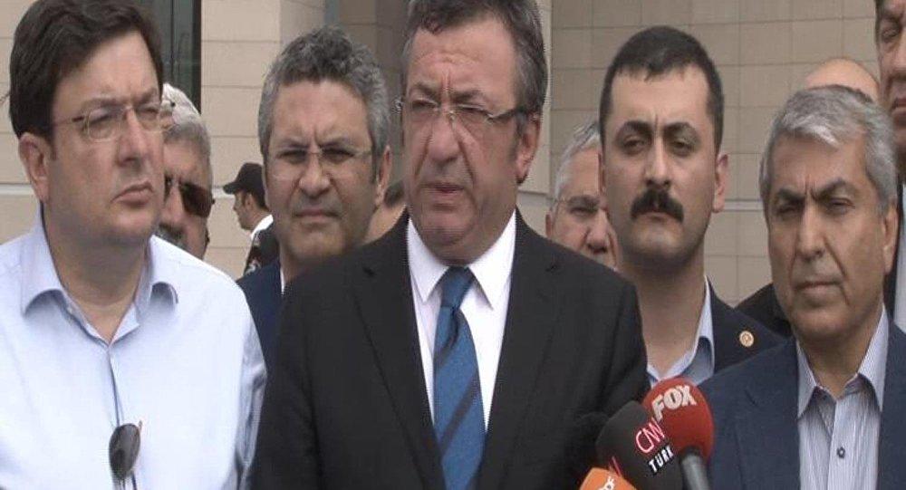 CHP'li Altay'dan Berberoğlu açıklaması: Böyle adalete lanet olsun
