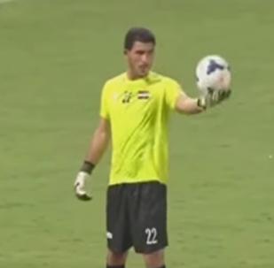 Suriye milli futbol takımı kalecisi İbrahim Alma