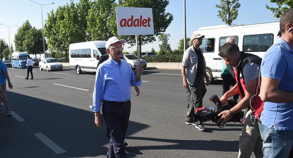 Kemal Kılıçdaroğlu - Adalet Yürüyüşü'nün ikinci gününde