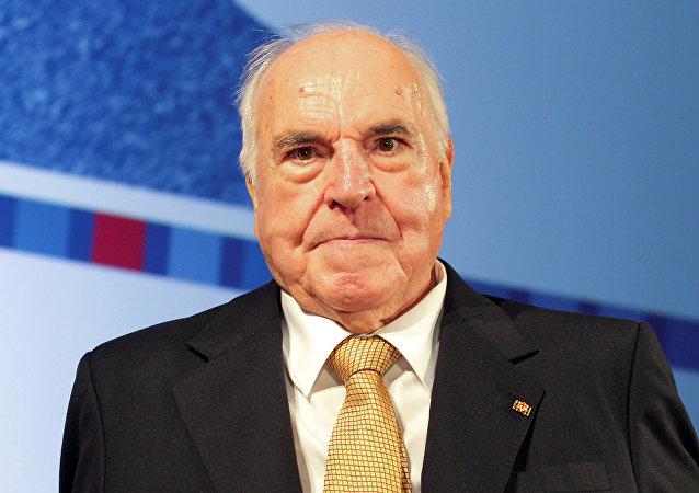Eski Almanya Şansölyesi Helmut Kohl