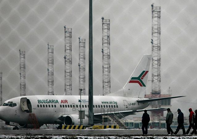 Bulgaria Air'e ait yolcu uçağı