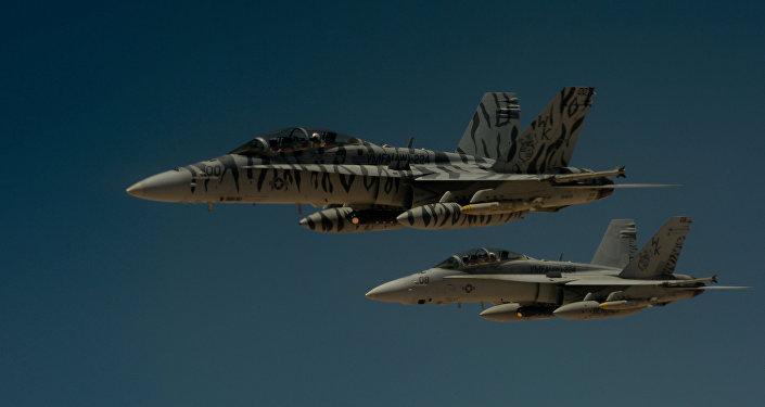 ABD savaş uçakları