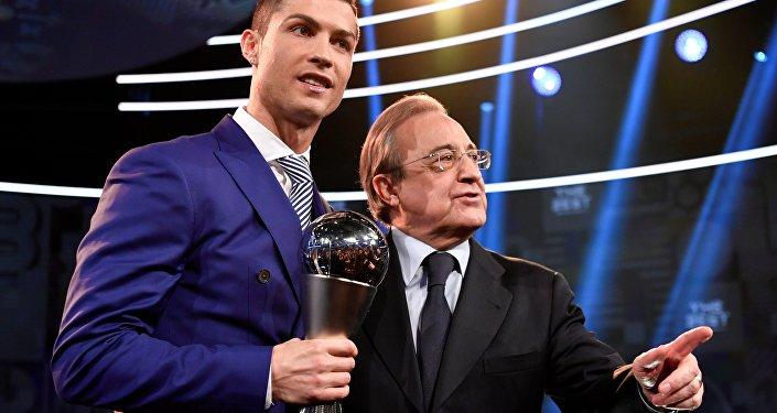 Cristiano Ronaldo-Florentino Perez