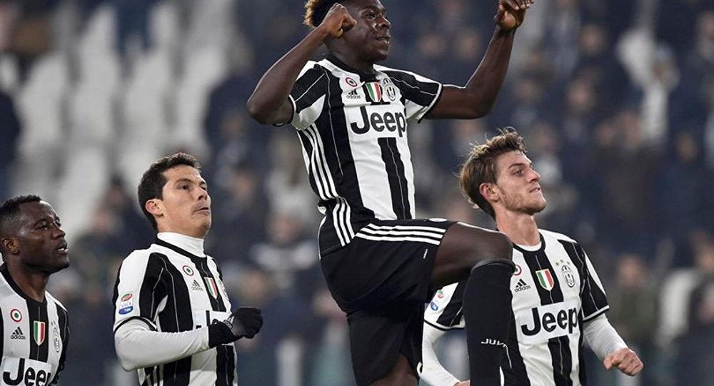 Juventus oyuncusu Moise Kean