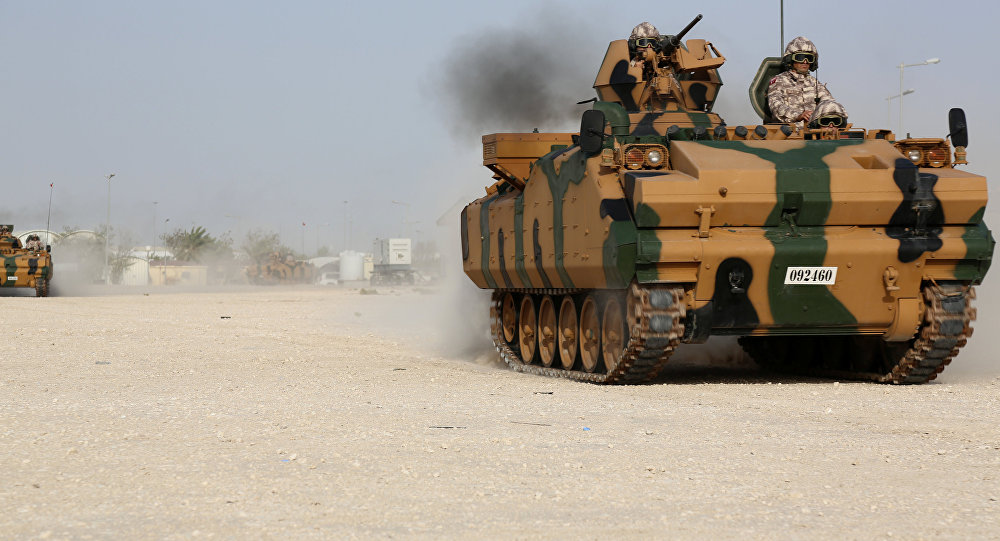 Türk Askeri Katar'da