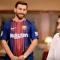 Barcelona'nın yıldız futbolcusu Lionel Messi'ye benzerliği ile ünlenen ve 'İranlı Messi' olarak anılan Reza Paratesh, Porto'nun kalecisi Iker Casillas'ı şaşırttı.