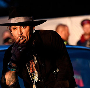 Johnny Depp Glastonbury Festivali