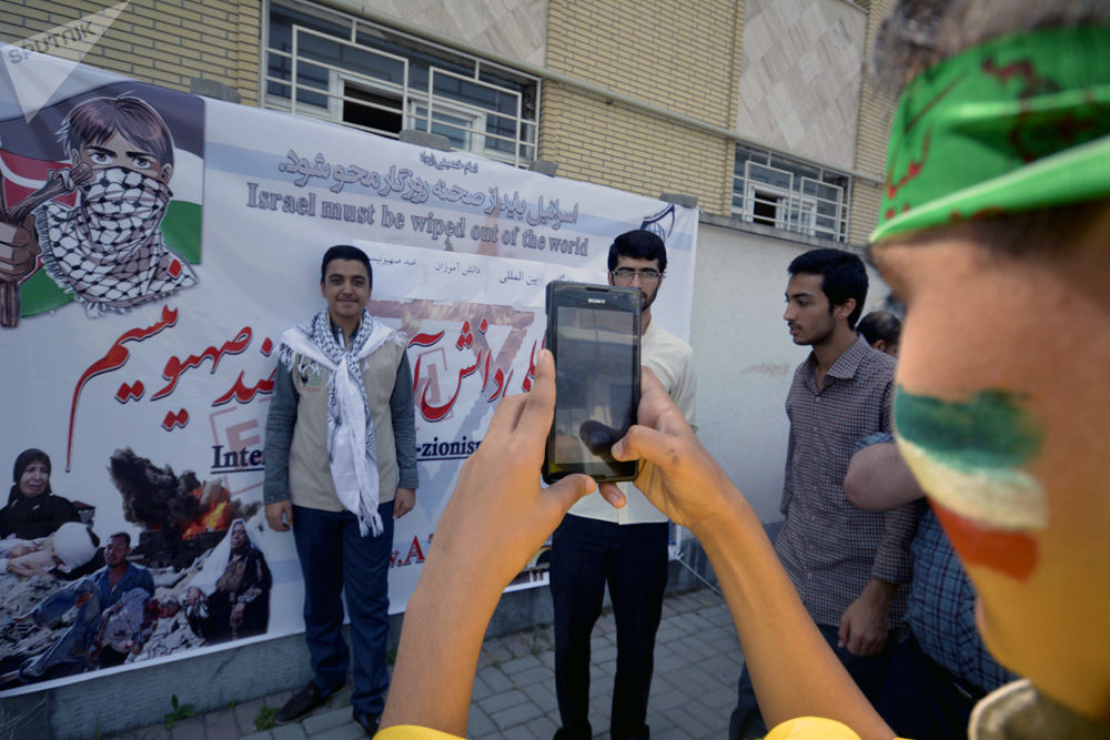 İran'da Kudüs Günü kutlamaları
